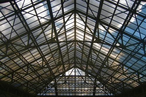 Industrial Skylight by M.V. Jantzen, via Flickr