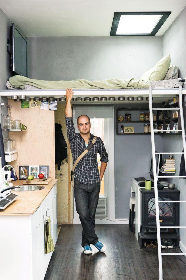 25 best loft pisos peque os images on pinterest - Decoracion loft pequeno ...