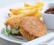 Recipe Lentil & Chickpea Burgers by Donna Bathy - Recipe of category Main dishes - vegetarian
