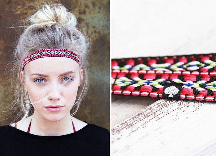 """Gevlochten hoofdband """"Tjak"""" - etnisch #2 van ♠pikfine // all selfmade stuff op DaWanda.com"""