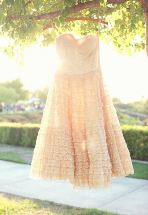 Wedding Gown: Pretty Dresses, Wedding Dressses, Pink Wedding Dresses, Style, Vintage Dresses, Clothing, Vintage Pink, Pink Bridesmaid Dresses, Lace Dresses