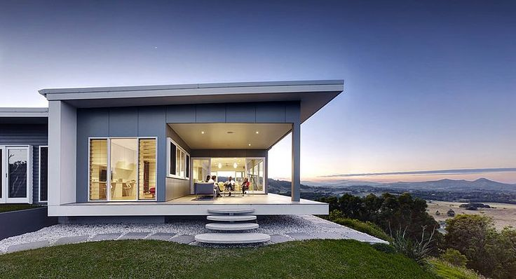 This private residence featuring stunning Byron Bay views is located in Coorabell, Australia. It was recently designed by Zaher #Architects.
