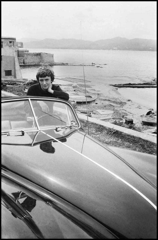 Françoise Sagan by David Seymour, 1956