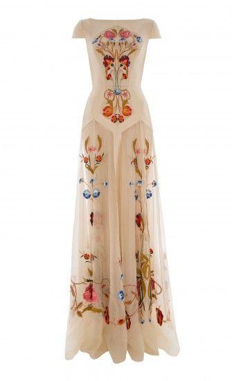 Long Toledo Dress- Temperley London