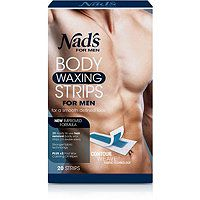 Nads Natural Hair Removal Strips for Men