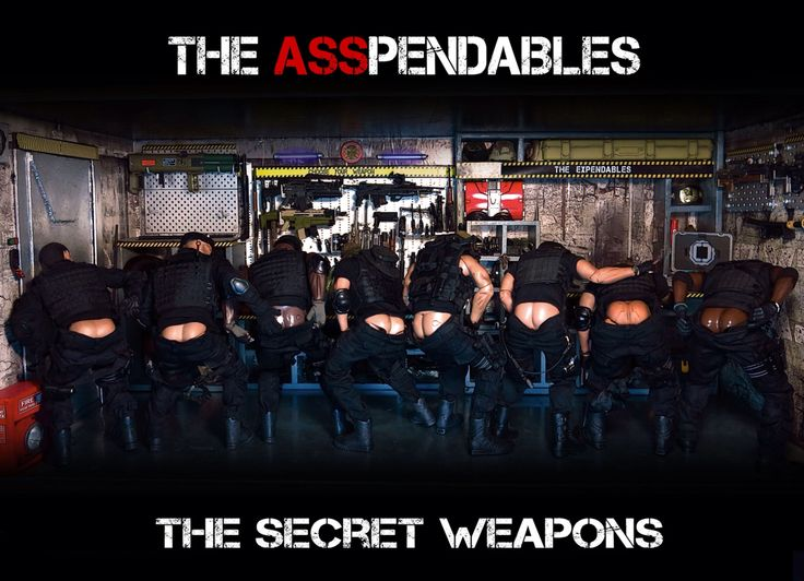 The Expendables: Asspendables