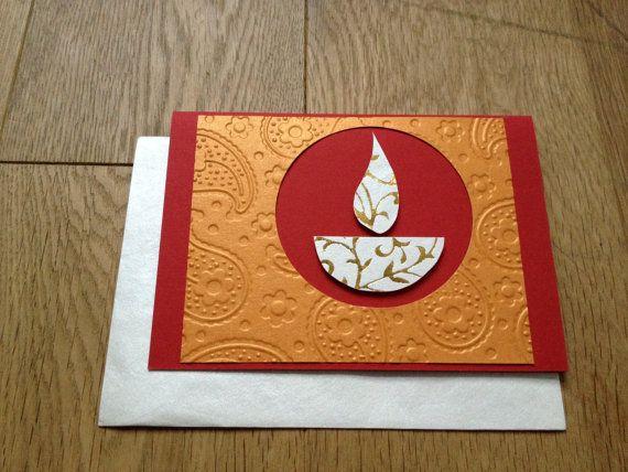 Handmade Diwali Card