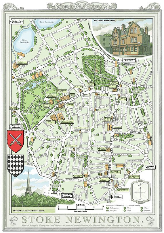 25 best Illustrated maps of London images on Pinterest