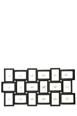 """This multi photo frame is a simple yet stylish way to accentuate favourite photo memories. Displays 18, 10x15cm photographs.<div class=""""pdpDescContent""""><BR /><b class=""""pdpDesc"""">Dimensions:</b><BR />L89xW1xH45.5 cm</div>"""