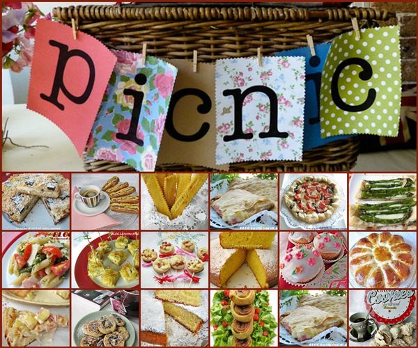 RACCOLTA RICETTE PER UN PICNIC ricette dolci e salate