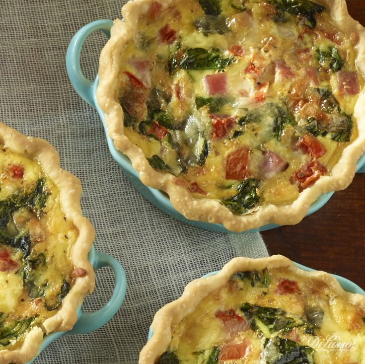When you're not sure what to make, and all you have to create with is whatever you have on hand, think quiche. #brunch