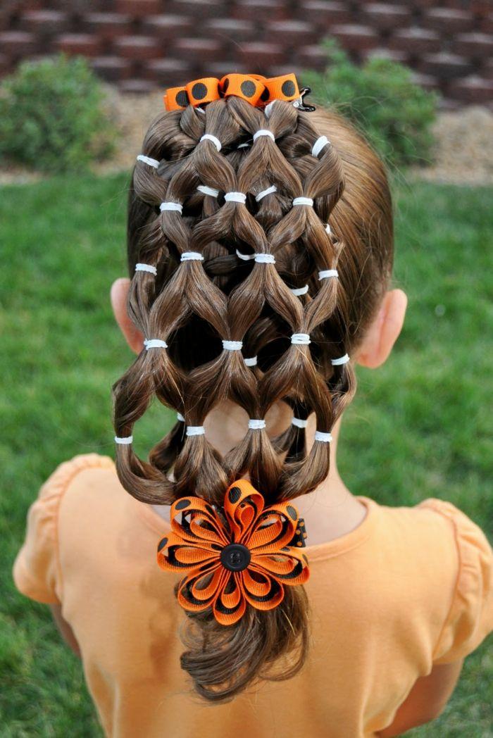 coiffure petite fille avec lastiques