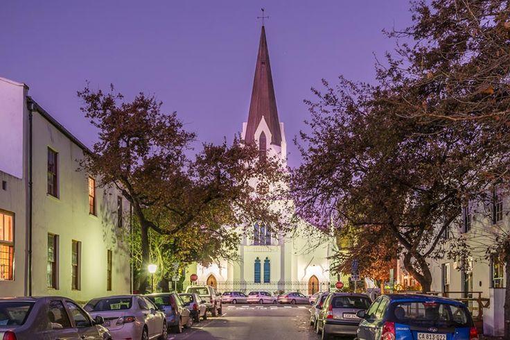 Situated in the heart of the winelands is Stellenbosch. http://www.privateproperty.co.za/neighbourhoods/stellenbosch/712