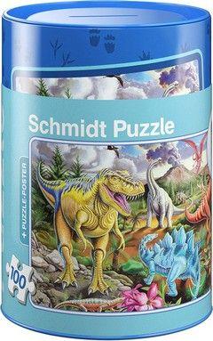 Puzzle Κουμπαράδες Standard-Δεινόσαυροι (100 κομ.)