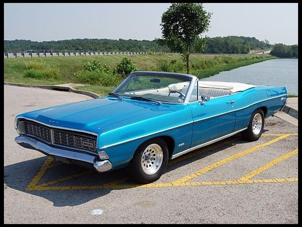 1968 Ford Galaxie 500 Convertible 390 CI, Automatic Photo 1