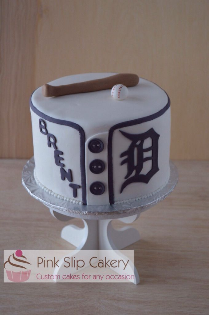 Detroit Tigers jersey cake