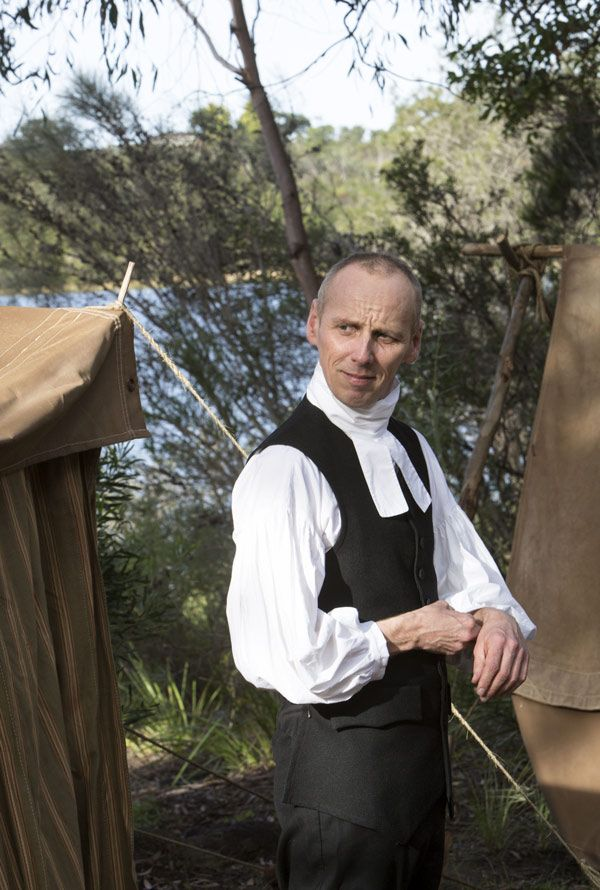 Richard Johnson - Ewen Bremner in Banished (BBC TV series 2015).