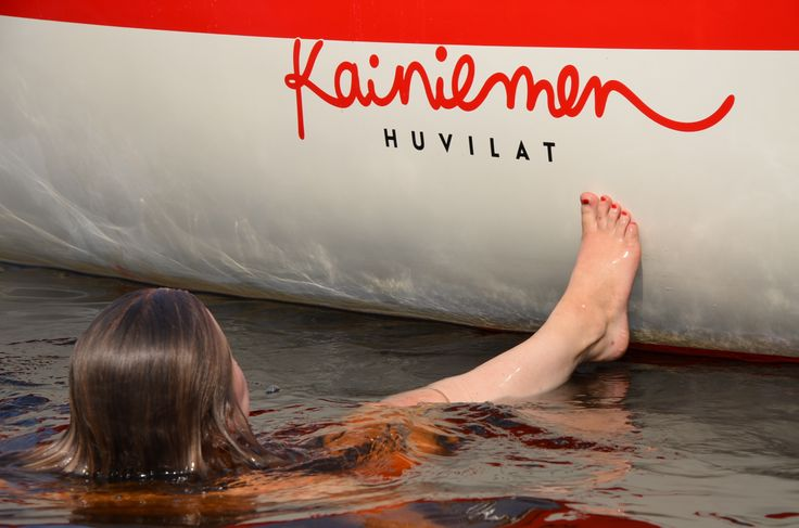 Sailing boat in Kainiemi
