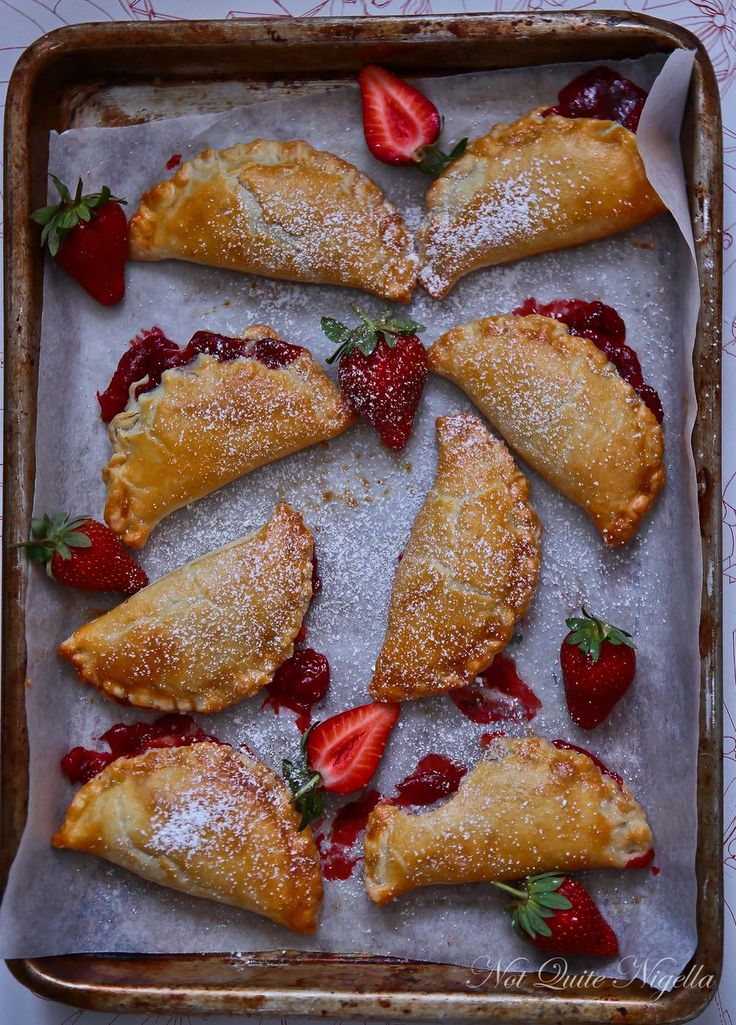 Sweet Li'l Strawberry Hand Pies