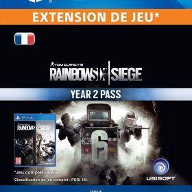 Tom Clancy's Rainbow Six Siege Year 2 Pass [Code Jeu PS4 - Compte français] de Ubisoft