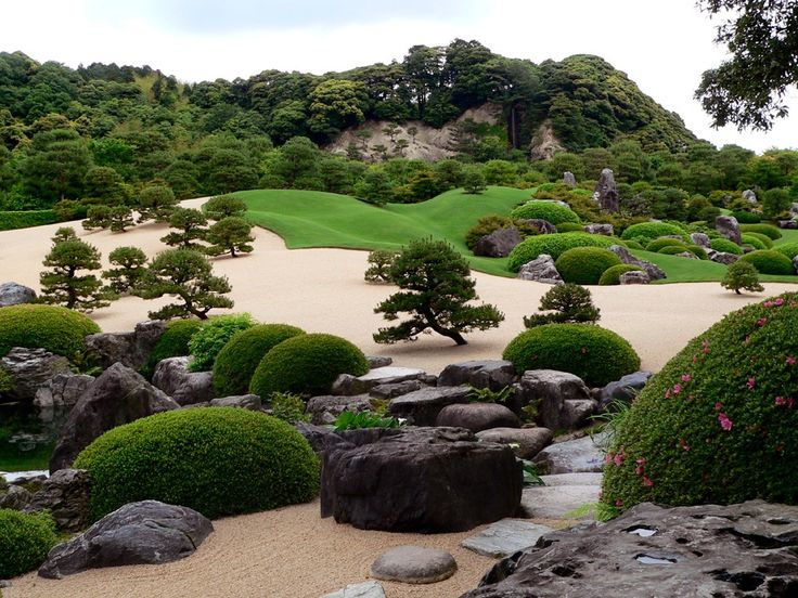 Small Japanese Garden | The Basic Concept Of A Japanese Rock Garden Part 70