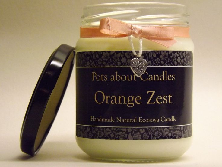 Orange Zest Scented Candle