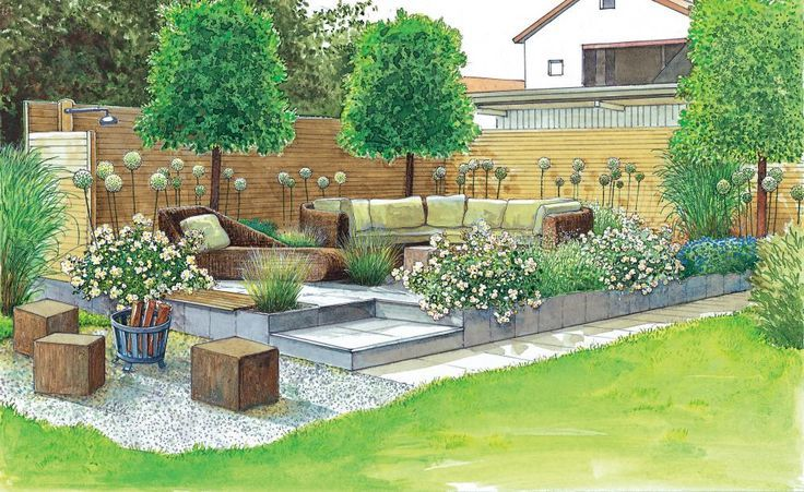 This Seat With Weatherproof Open Air Sofa Spreads Living Room Atmosphere Diyprojectsgardens Cf Beautiful Gardens Garden Layout Outdoor Gardens