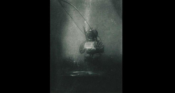 primera fotografía submarina