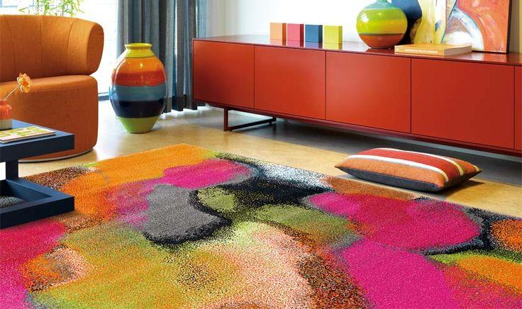 Tappeto colorato Arte Espina
