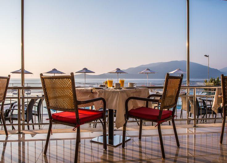 Mnistires Restaurant, Odyssey hotel, Agia Efimia, Kefalonia, Ionian islands, Greece