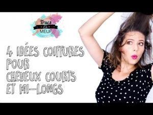 4 idées de coiffures pour cheveux courts ou mi longs ! • Hellocoton.fr