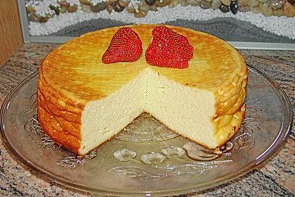 Einfacher Quarkkuchen ohne Boden 1