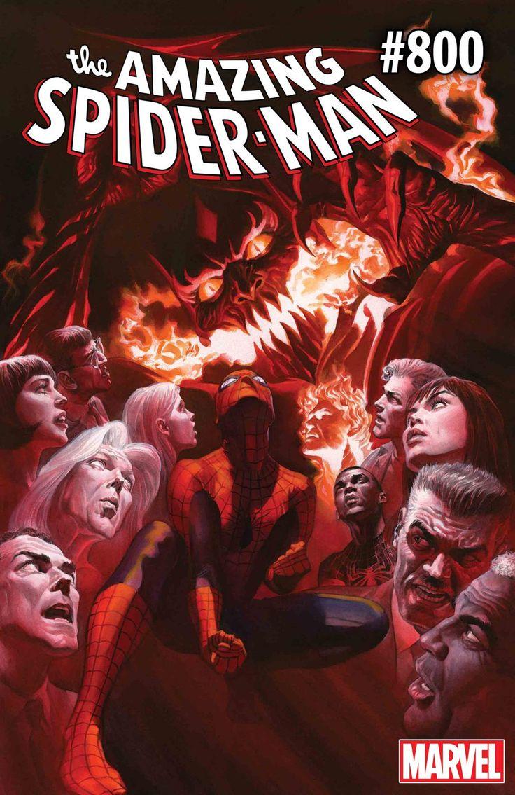 AMAZING SPIDER-MAN #800: The Red Goblin and Spider-Mans Final Showdown!