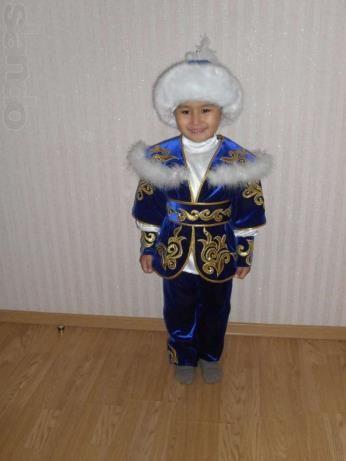 Детский казахский костюм астана