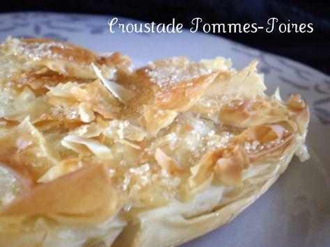 Croustade Pommes-Poires ©Kaderick en Kuizinn