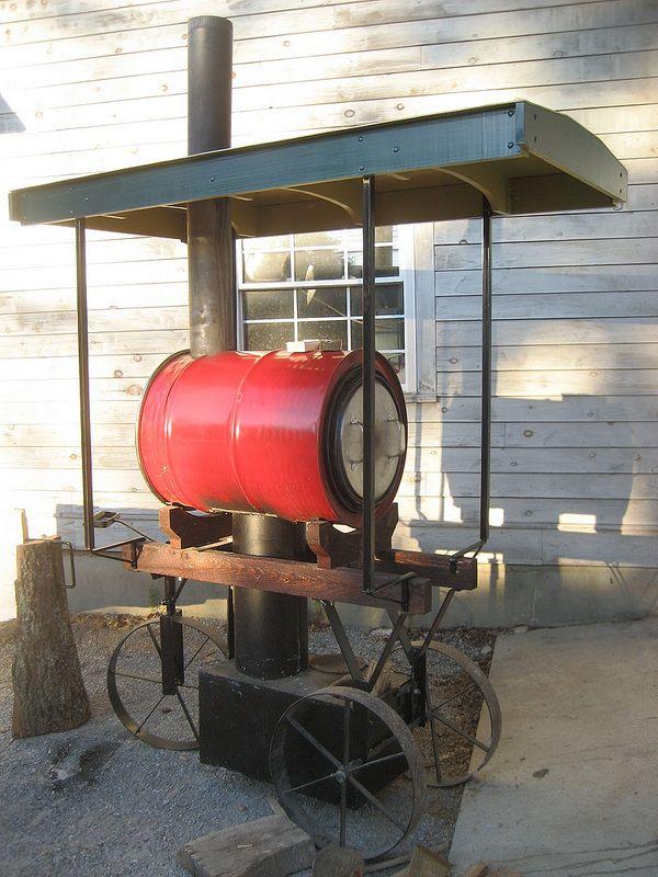 LICKER-TEE-SPLIT . . .Wood Fired Barrel Oven | Flickr - Photo Sharing!
