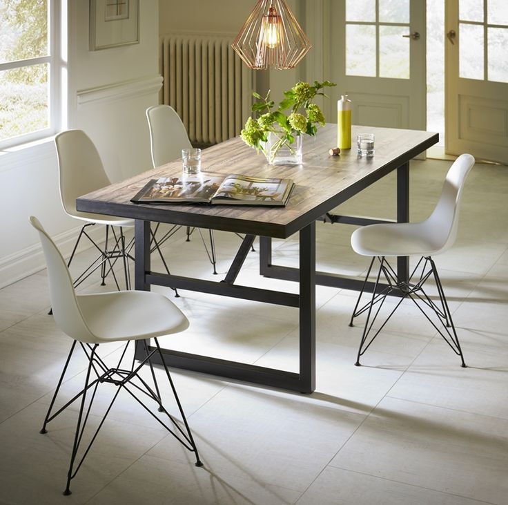Divine Dining By Modus Furniture. #Crossroads #Drift Table With #Rostock  Chairs.