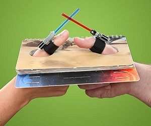 lightsaber thumb wrestling ~ I NEED THIS! 😄