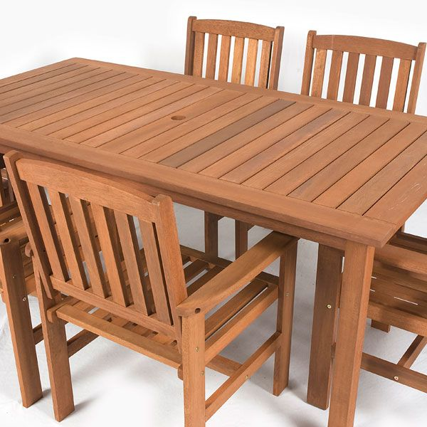 Greenfingers Chessington Balau 6 Armchair 180cm Rectangular Dining Set. 18 best images about GARDEN FURNITURE IDEAS on Pinterest   Garden