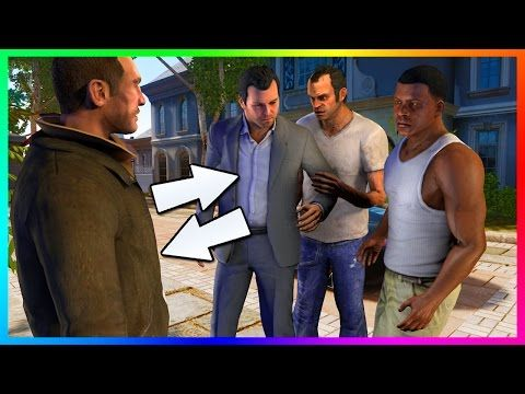 nice 10 Grand Theft Auto Characters That Make SECRET Appearances In GTA 5 & Other Rockstar Games! (GTA V)