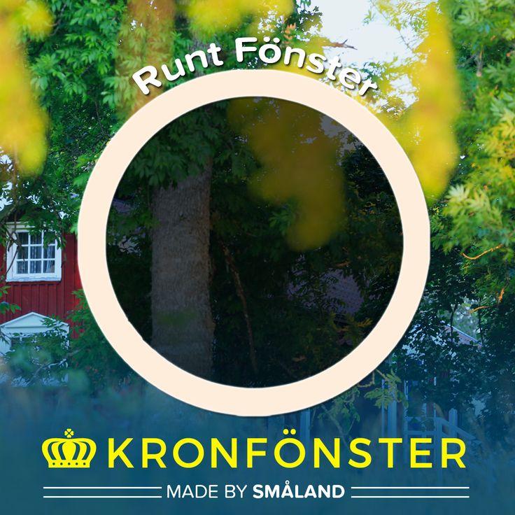 Fönster från Kronfönster - Made by Småland  Avans: Runt PVC-fönster / Fast fönster, 88 cm i diameter  #PVCfönster #fönster #Avans #Kronfönster  Läs mer » https://goo.gl/Lc16LW