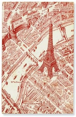 The Eiffel Tower and Trocadero, circa 1900