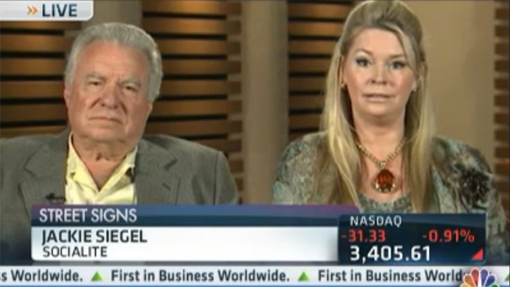 More on the Saga of David and Jackie Siegel