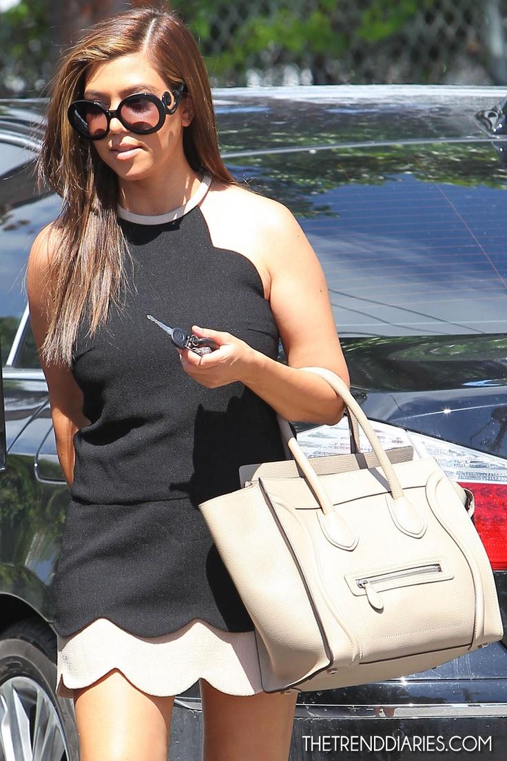 Kourtney Kardashian out in Miami, Florida - September 28, 2012