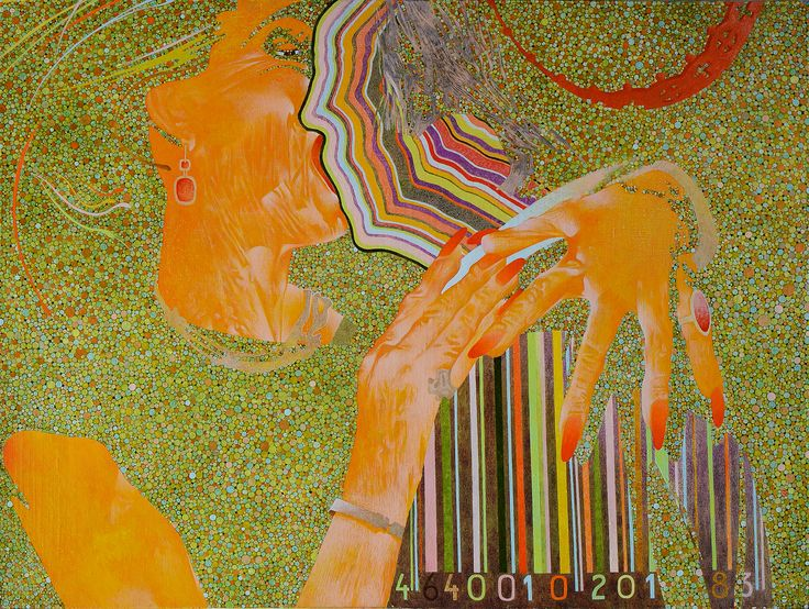 "Ivanov Gallery / Art for sale. ""LOVE it"", Константин Слепухин, 2016. Холст, масло/120х90см. «LOVE it», Konstantin Slepuhin, 2016. Oil on canvas/120х90sm."