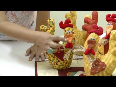 Mulher.com 03/03/2014 - Porta peso de galinha - YouTube