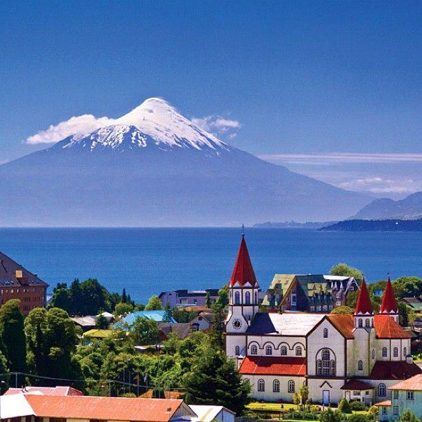 Puerto Varas - Lago Llanquihue - Volcán Osorno, Región de Los Lagos. - photo by chilediscovery