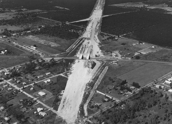 Accompanying Note Interstate New Home Church To Northeast Progres Photograph Looking West Towards Roads 35 700 Interchange