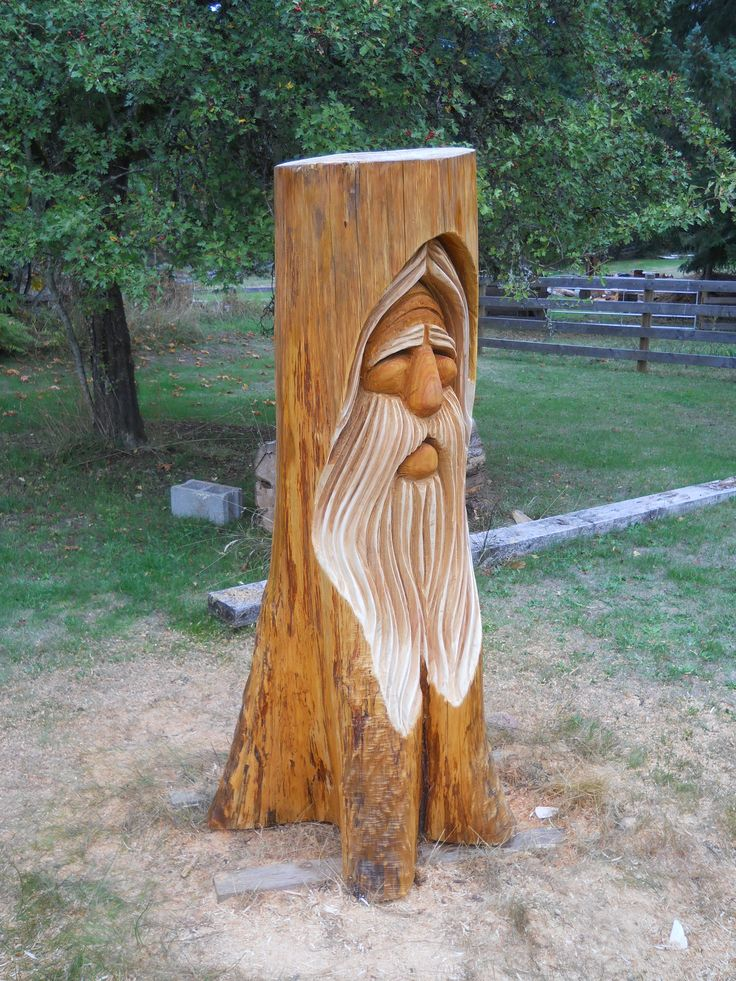 Chainsaw carving ideas about carvings on