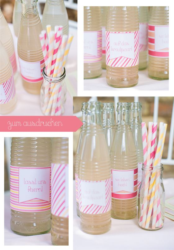 Flaschenlabels